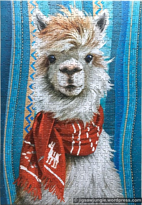 jigsaw puzzle castorland llama 500 piece пазл касторленд 500 деталей лама забавное животное